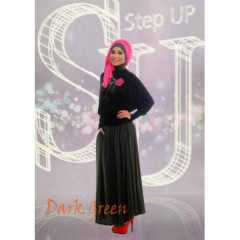 Step Up Najwa Dark Green