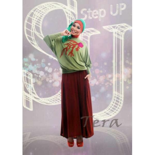 Step Up Najwa Tera Baju Muslim Gamis Modern