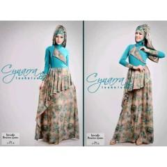 VARISHA DRESS by Cynarra Persian green