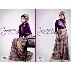 VARISHA DRESS by Cynarra Purple