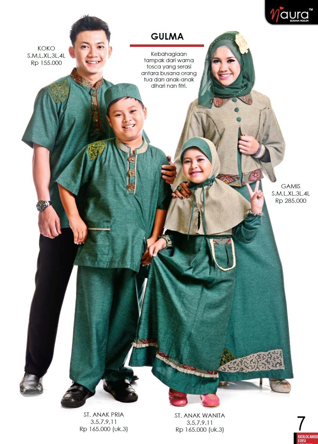 Gulma By Naura Baju Muslim Gamis Modern