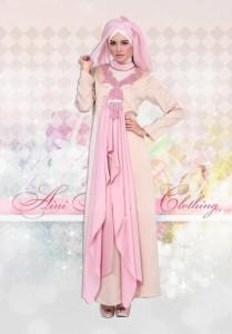 baju muslim modern 2014  Pusat-Gamis-Terbaru-Define-037-khaki