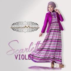 SCARLETT DRESS by Anonimoda Violet