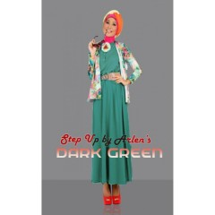 gamis rabbani Step Up Adhara Dark Green