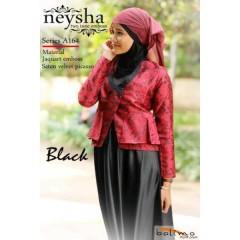 neysha two tone black