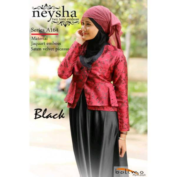 neysha two tone black