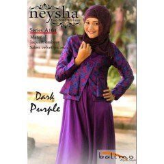 neysha two tone dark purple