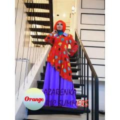 AZARENKA by Ericsummer Orange