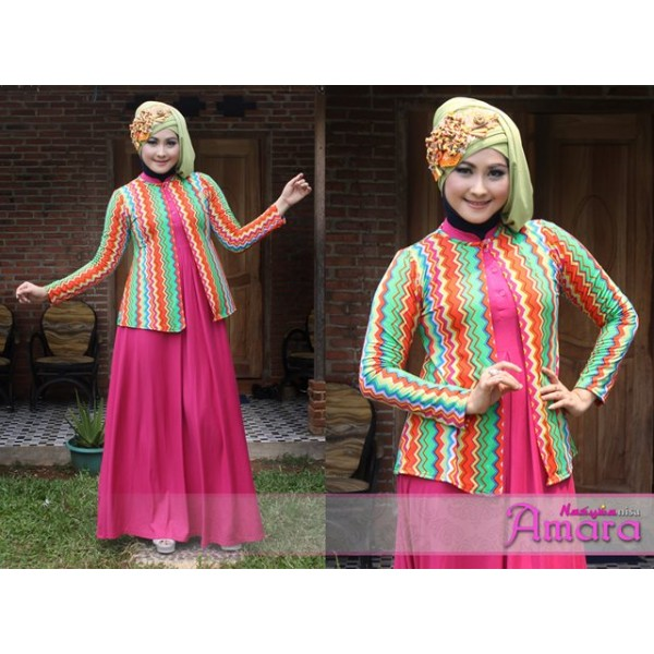 NEW AMARA by Nasywannisa Shocking Pink