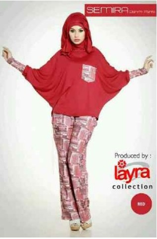 SEMIRA BY LAYRA red
