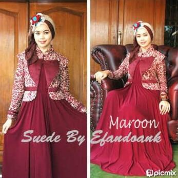 SUEDE 2 by Efandoank Maroon