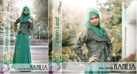 kamilia-green leaf
