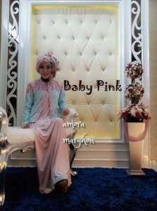 AMORA by Marghon Collection Baby Pink
