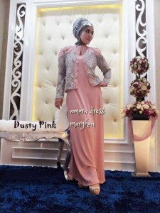 AMORA by Marghon Collection Dusty Pink
