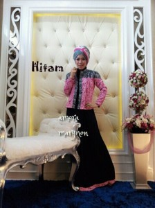 AMORA by Marghon Collection Hitam