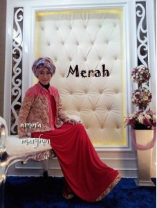 AMORA by Marghon Collection Merah