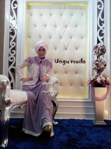 AMORA by Marghon Collection ungu  Muda
