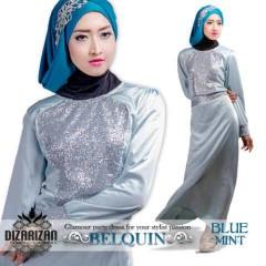 BeLQuin DRESS Blue Mint