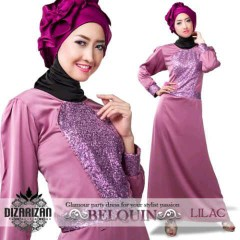 BeLQuin DRESS Lilac