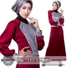 BeLQuin DRESS Maroon