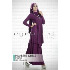 DRESS HIJABER PURPLE
