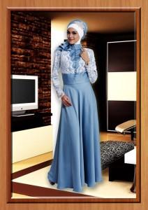 baju pesta muslim modern 2014 Pusat-Gamis-Terbaru-Cavelli-Aqua