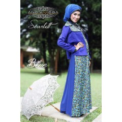 SCARLETT DRESS 2 by anonimoda Blue