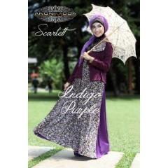 SCARLETT DRESS 2 by anonimoda Indigo Purple