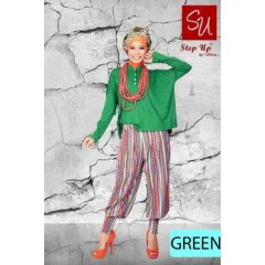 gamis pesta cantik STEP UP MONICA Green