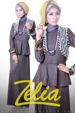 Zelia Dandelion Dress Coklat Kopi
