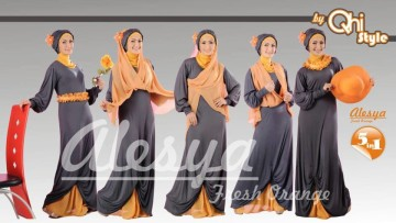 ALESYA Grey Orange