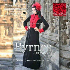 Byrnes Exquisite Black Red