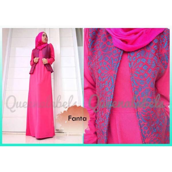 Flavia By Queena Fanta Baju Muslim Gamis Modern