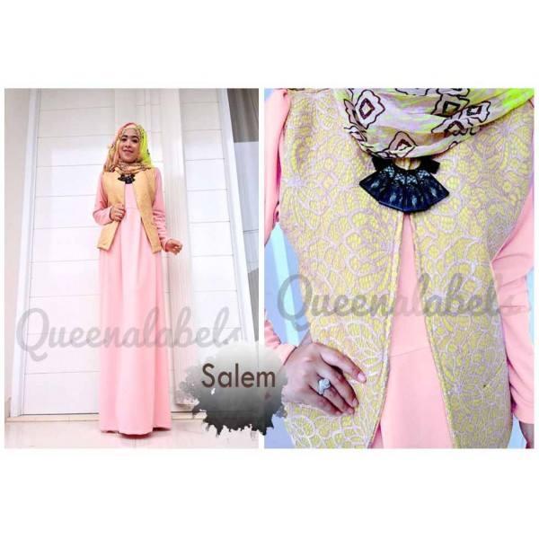 Flavia By Queena Salem Baju Muslim Gamis Modern