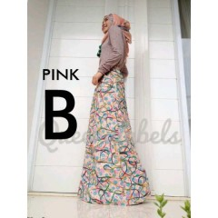 busana hijabers trendy GRUVEN by Queena Pink