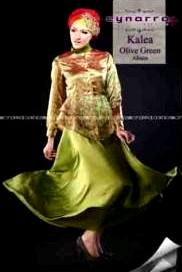 busana kerja wanita terbaru KALEA BY CYNARRA olive Green