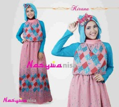 Kirana by nasywannisa Dusty Pink