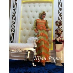 Mishelle dress by marghon Hijau Pupus