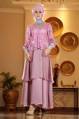 Rj 06 dusty pink dress bunda