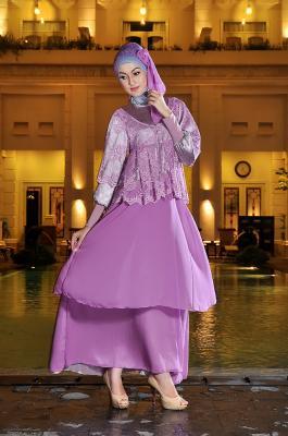 Rj 06 ungu dress bunda