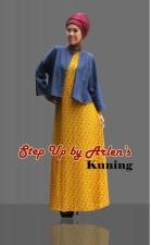 gamis 2014 STEP UP GIOVANA  Kuning