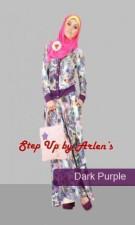 busana wanita terbaru hari ini STEP UP LILYA 2 Dark purple