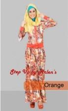 busana kerja wanita modern STEP UP LILYA 2 Orange