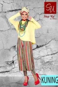 gamis trendy STEP UP MONICA Kuning