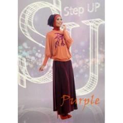 gamis trendy masa kini STEP UP NAJWA 2 Purple