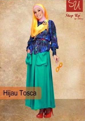 Su Abayomi Hij Tosc Baju Muslim Gamis Modern