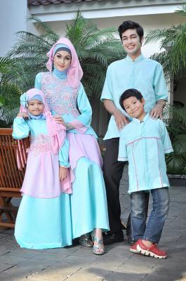 busana hijabers terbaru rj 05 baby blue couple..