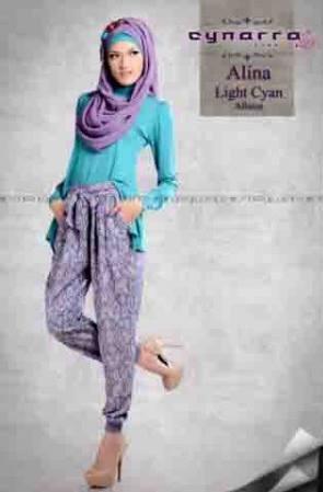 ALINA BY CYNARRA light cyan