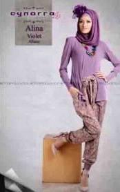 ALINA BY CYNARRA violet