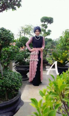 model busana muslim wanita modern AMARILIS by Marghon A